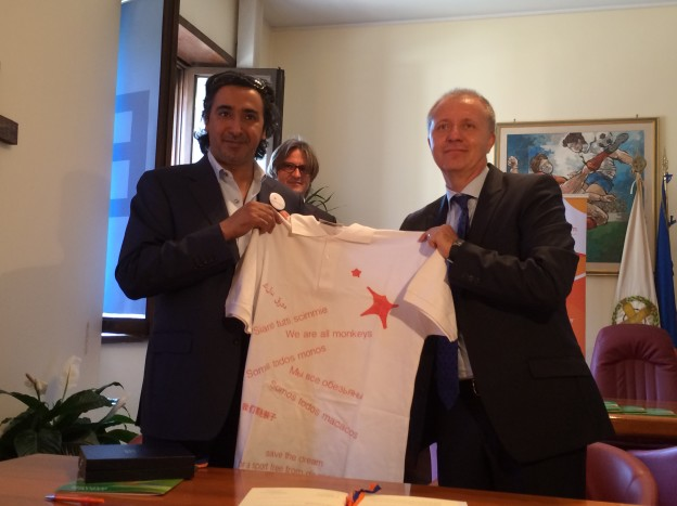 Mohammed Hanzab e Massimo Achini