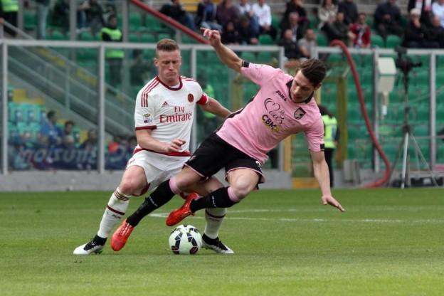 Soccer: Serie A; Palermo-Milan